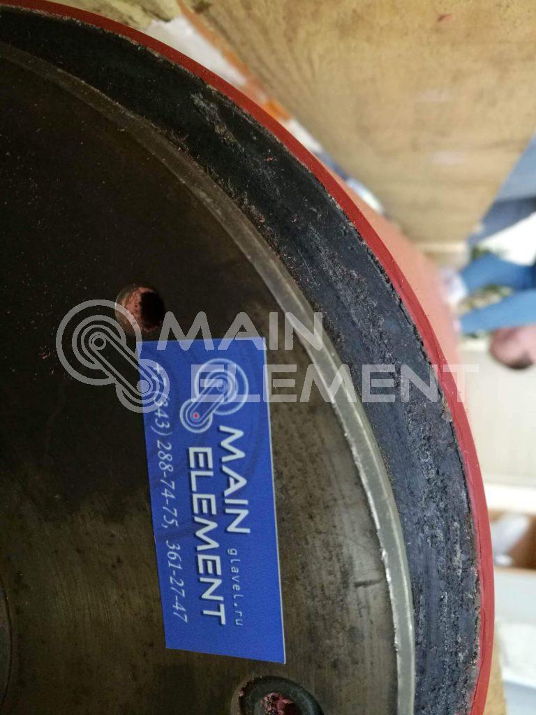Покрытие валов, роликов, валиков, колес полиуретаном (гуммирование)